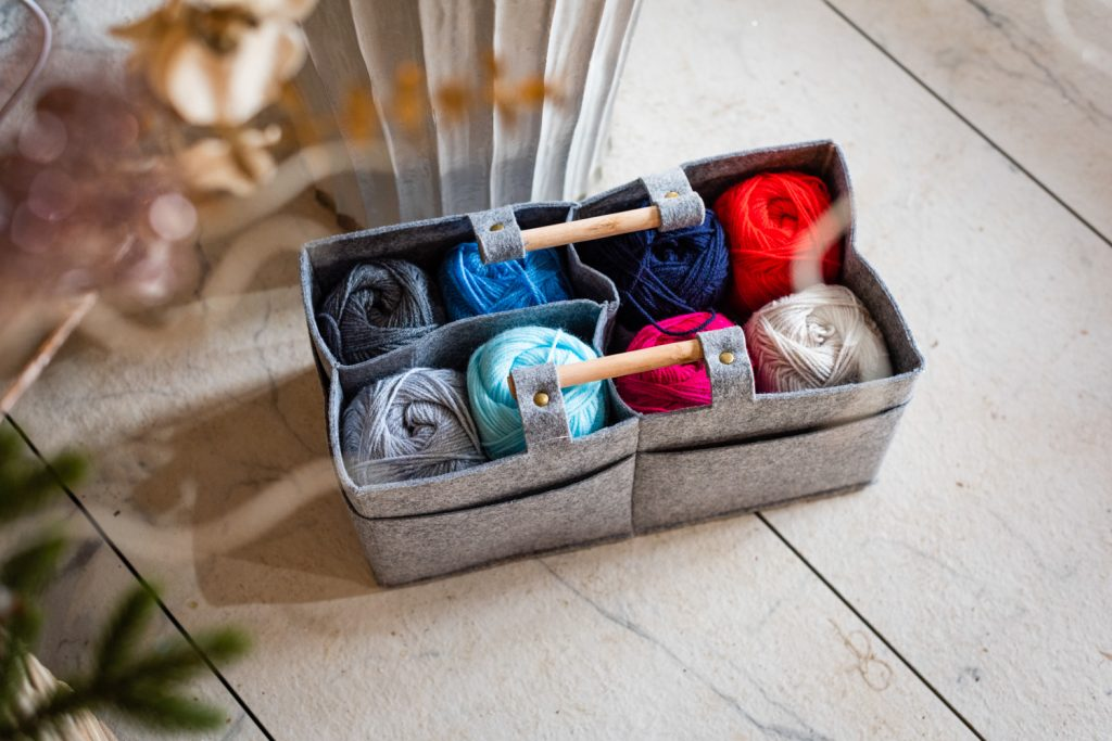 Korbond - baskets - storage - Elli Dean photography
