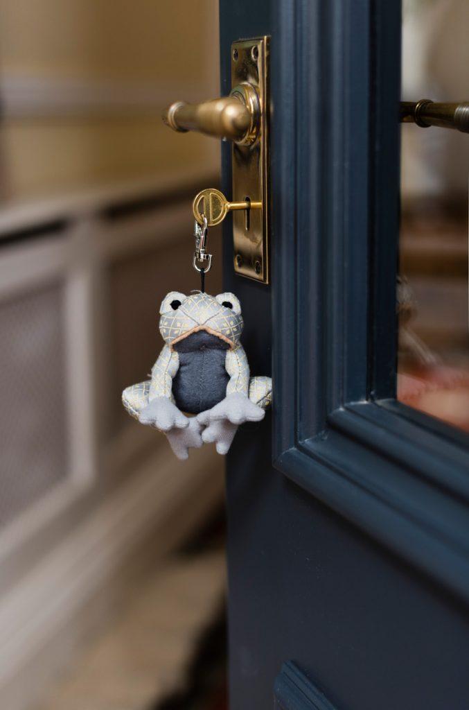 Dora designs - doorstop - draught excluder - keyring