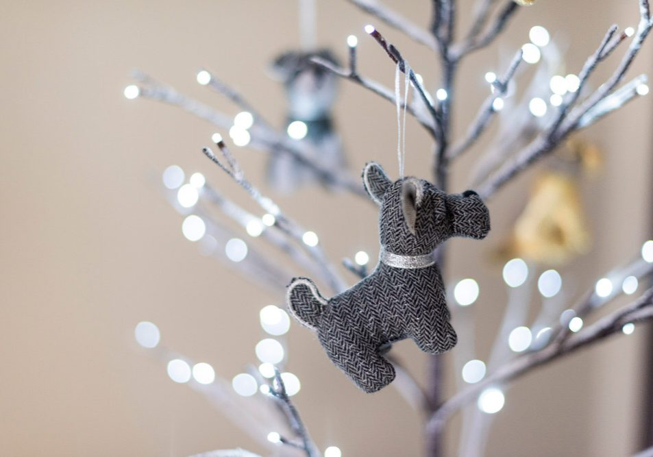Dora Designs - Dog Christmas Tree Decoration