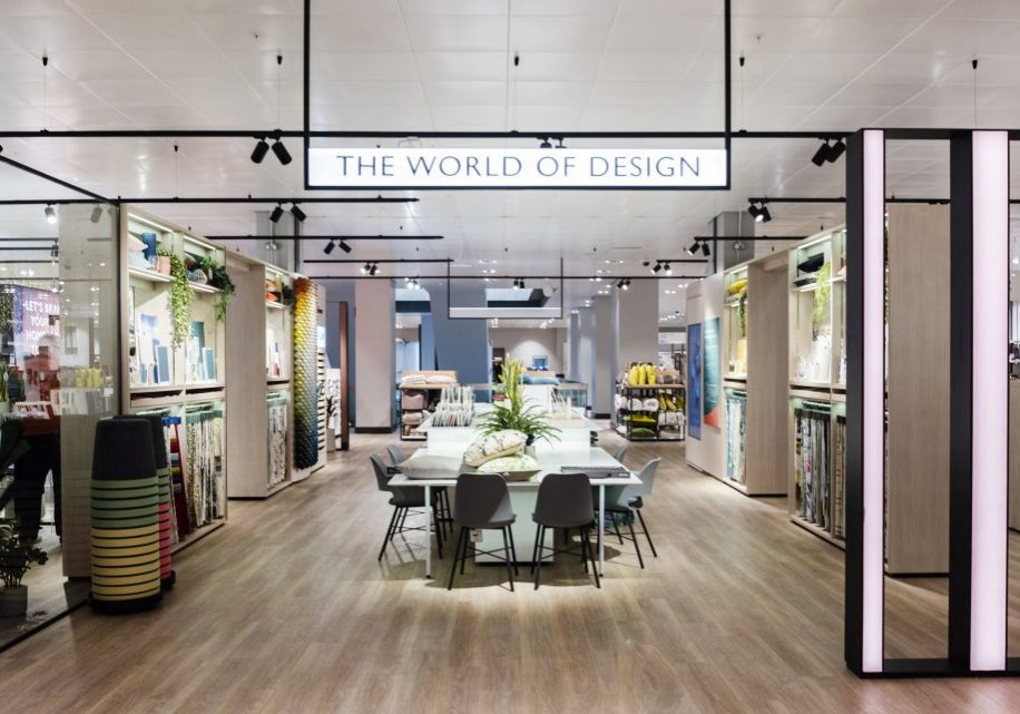 The refurbished place to eat and new World of Design at the Peterborough store